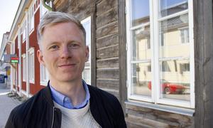 Johan Söderlund har lagt ner många timmar i en arbetsgrupp för att rädda Näsvikens skola.