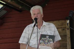 Bosse Yman har precis publicerat boken Jöns Ljungberg och Härjedalens rokoko.