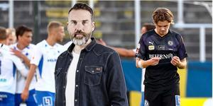 Niclas Bergmark efter debuten mot IFK Norrköping. Foto: Bildbyrån