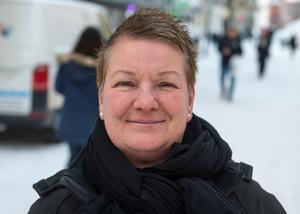 Karin Carlberg, 53 år, receptionist, Sundsvall