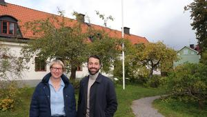 Emilia Ekeblad och André Enkler arbetar mycket med att bygga upp samarbeten med museer och andra aktörer inom kulturarvsområdet.