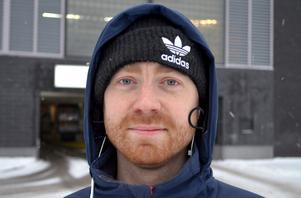Kristoffer Samuelsson, 33 år, kock, Sundsvall:
