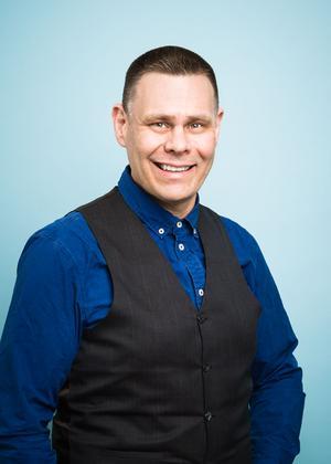 Fredrik Wallén (KD), färdtjänstnämndens ordförande i Region Stockholm. Foto: Pressbild