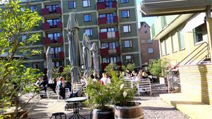 Elsas coffeeshop vann tidningens utnämning som bästa uteservering i Gävle 2019. Den har tillstånd att ha öppet året om 2020.