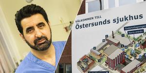 Diyako Ghadani, ST-läkare på öron-näsa-halsmottagningen på Östersunds sjukhus.
