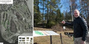 Niclas Olofsson och Sundsvalls Golfklubb planerar för bostadsområden intill golfbanan i Skottsund.