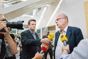 Advokat Per-Ingvar Ekblad vid rättegången mot IKEA-mördaren. Arkivbild från 2015.