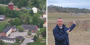 Oppositionsrådet Patrik Isestad (S) tycker att Nynäshamns kommun borde sälja de oanvända bergvärmehålen vid Kyrkskolan i Sorunda.