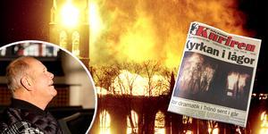 11 november 1998 brann Trönö kyrka. Det blev en stor nyhet i hela landet.