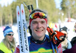 Oskar Ohlsson, en av idrottarna som får pris av kommunen.
