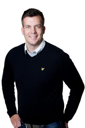 Linus Ekqvist bli ny vd för Krokomsbostäder. Han kommer närmast från Taxi Östersund och tillträder posten på Keokomsbostäder den 1 april. Foto: Krokoms kommun