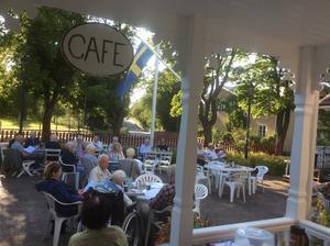 80 gäster deltog på Kafékvällen. Foto: Rune Johansson, Läsarbild
