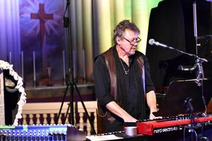 Olle Nyberg under fjolårets konsert i Sollerön.
