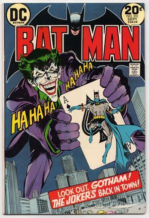 Efter fyra års frånvaro gjorde Jokern comeback i septembernumret av
