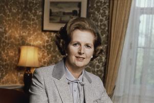 Margaret Thatcher 1980. Foto: AP
