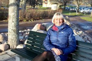 Lena Sundholm ser fram emot upprustningen av Fagerstahallen. Foto: Lina Svalbro