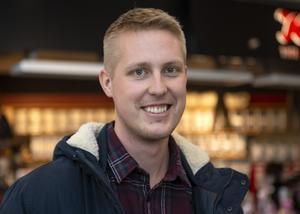Pelle Hedenskog, 24, läkarstudent, Sundsvall