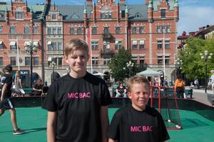 Emanuel Antonsson och Viggo Rolandsen förlorade sin första match men fokuserade redan på nästa drabbning.