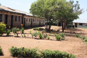 Skolan i byn.