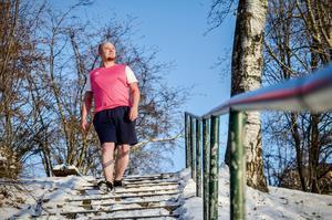 Sundsvallsbon Jens Larsson har tagit till sig en kylig livsstil.