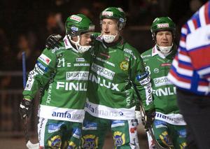 David Karlsson, här i Hammarbytröjan, har föga överraskande gjort flest mål på annandagen under 2000-talet.  BILD: Fredrik Sandberg/SCANPIX