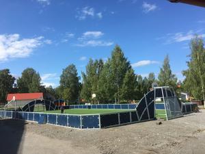 Multiarenan i Lit är en förebild till det planerade projektet i Brunflo.Foto: Patrik Bergström/Östersunds kommun