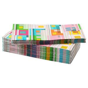 6. Pappersservett, flerfärgad, 30-pack, 19 kronor på Ikea.