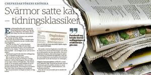Insändarskribenten gillar inte chefredaktörens syn på tidningens olika målgrupper. Foto: TT