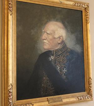 Herman Lagercrantz köpte Wirsbo herrgård i slutet av 1800-talet.
