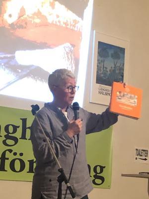 Anki Berg berättade inspirerande historier om tunnbröd.