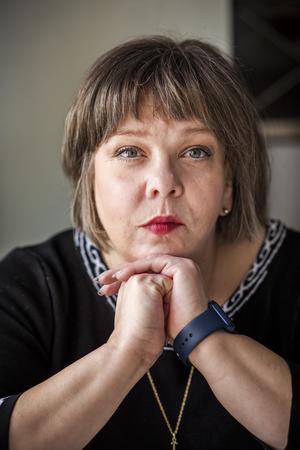 Åsa Strahlemo, förbundsordförande, DHR – Delaktighet, Handlingskraft, Rörelsefrihet.