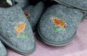Djuriska motiv för frusna fötter.