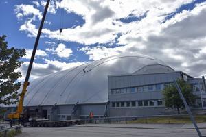 Nordichallen efter.
