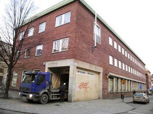 Januari 2008. De gamla postlokalerna på Sturegatan ska rymma cirka tio butiker och ett kafé. Foto: VLT:s arkiv