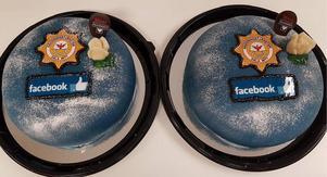 Flest likes på Facebook av landets räddningstjänster – DalaMitt har anledning att fira med tårta.Foto: Räddningstjänsten DalaMitt