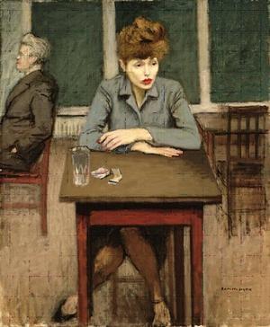 Den moderna abstrakta människan saknar rötter och följer därför som en vindflöjel opinionens nycker. Ensamhetens är hennes lott och hon gör vad som helst för att få tillhöra en flock .