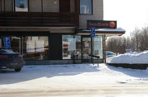 Swedbanks kontor i Malung kommer att stängas.