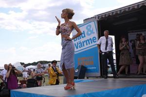 Miss Juicy Fruit, som även tävlade förra året slutade på andra plats.