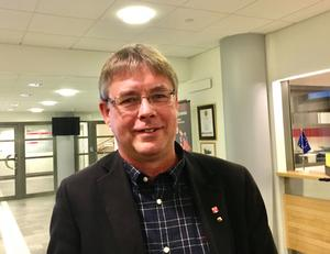 Mikael Löthstam  (S)                                                                                                                                   Kommunstyrelsens ordförande. Fotograf: Torbjörn Ingvarsson