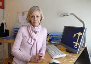 Cristine Dahlbom Nygren, vård- och omsorgsdirektör 2012-2016. Foto: Bo Åhs
