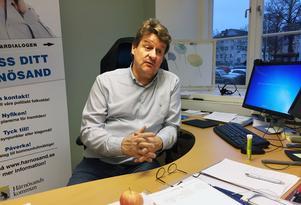 Anders Gäfvert, gruppledare Moderaterna, har i många år lobbat för Härnösand som militärstad.
