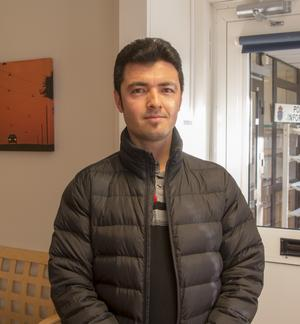 Murtaza Husseini har övningskört i ett år och ser fram emot att ta körkortet.