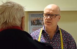 Mats Eriksson har hunnit med 40 år i butiken.
