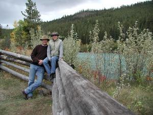 Från 1990 till 2009 spenderade Jaye och Johan huvuddelen av året i Kanada. Foto: Privat
