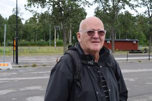 – Det är mer oroligheter uppe i bergen, menar Grängesbergsbon Kenneth Dahl.