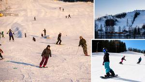 """Lite snö och milt väder – så påverkas slalomsäsongen i Ö-viksbackarna: """"Det är tufft"""""""
