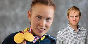På tisdagen tilldelades Tove Alexandersson bragdguldet – nu hoppas sportens krönikör, Rickard Pettersson att Borlängetjejen även tar hem Jerringpriset. Foto: TT och DT.