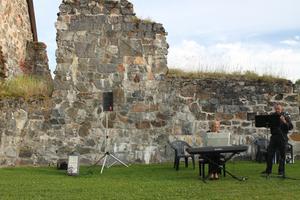 Selångers kyrkoruin från 1200-talet.