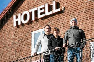 Turisthotellet i Rättvik har fått nya ägare, Jonny Thorslund, Linda Thorslund Leandersson och Fredrik Thorslund.