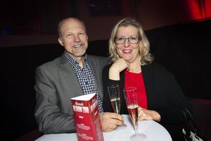 Lars Åsén och Susann Minell var på personalfest med jobbet.